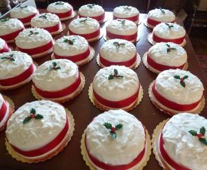 Traditional English Christmas Cakes