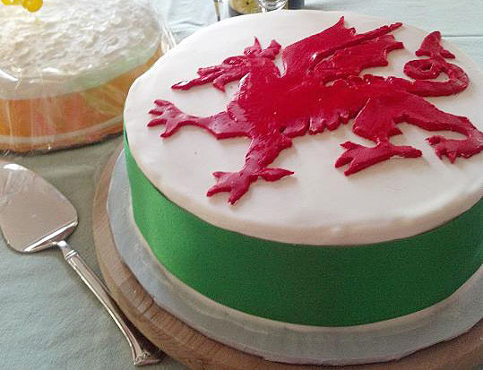 How To Make A Welsh Dragon Cake