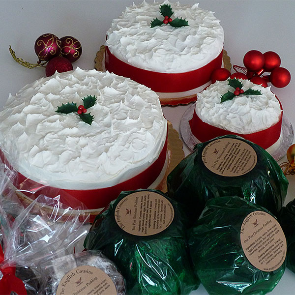 Christmas Cakes and Christmas Puddings