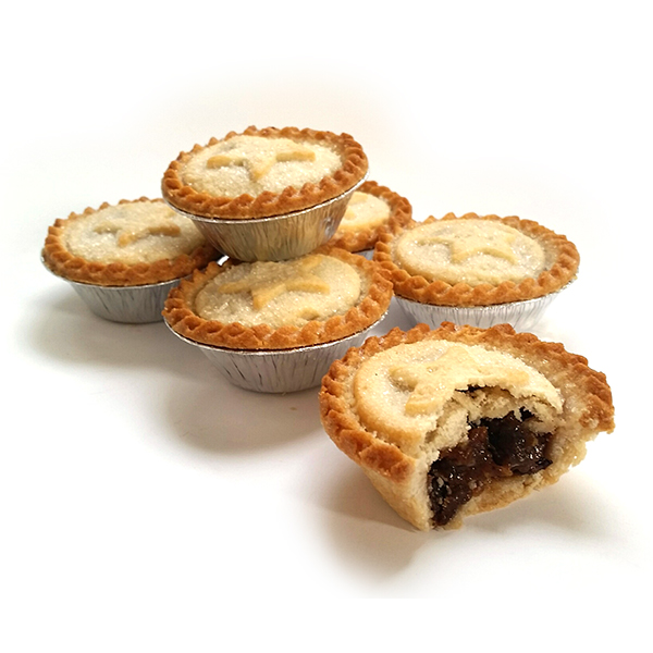 Luxury mince pies for English mincemeat recipe