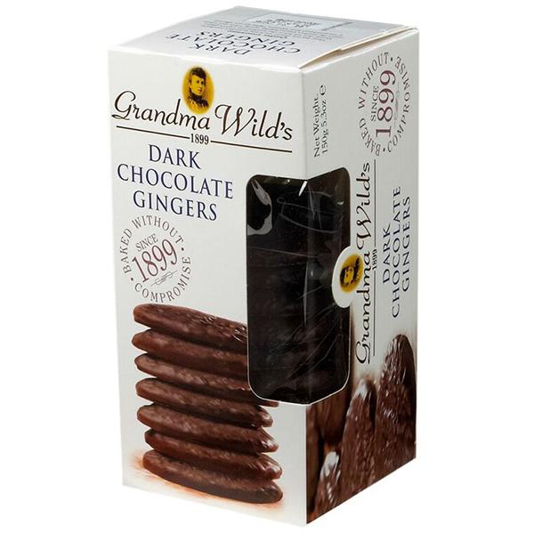 Grandma Wild's Dark Chocolate Giners